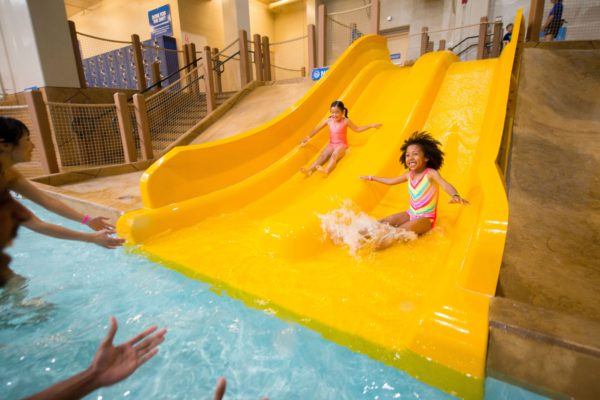 Great Wolf Lodge Southern California Whooping Hollow Slides