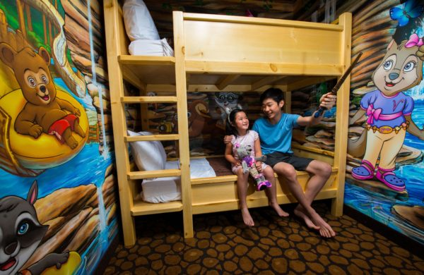 Great Wolf Lodge Southern California Wolf Den Suite