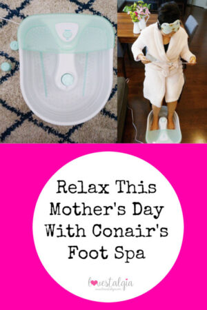 Conair foot Spa Mother's Day Gift Relaxation Foot Bath