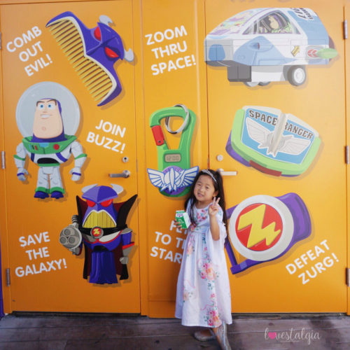 pixar pier, disneyland, disney california adventure, pixar fest, instagrammable photo op, instagram walls, pictures, buzz lightyear, poultry palace, emperor zurg