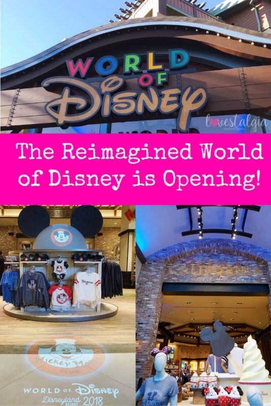 World of Disney, Downtown Disney, Disneyland, Disney Parks, Disneyland Resorts, Disney Style, shopDisney, Disneyland merchandise, Reimagined World of Disney, Disney souvenir, Walt Disney World, LoungeflyxDisney