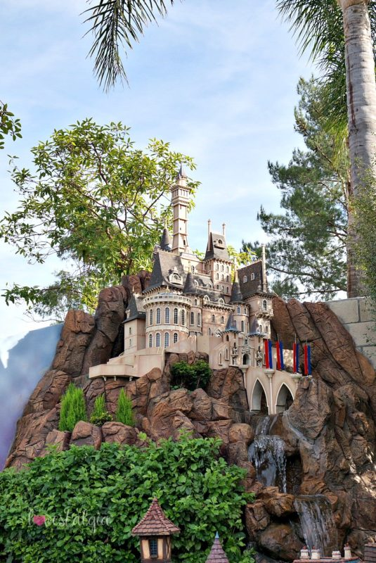 castle peak and thunder railroad, architect, david sheegog, disneyland replica, disneyland castle, disney, anaheim, disney, mickey mouse, disneyland railroad, haunted mansion, disney fan, beauty and the beast, beast castle