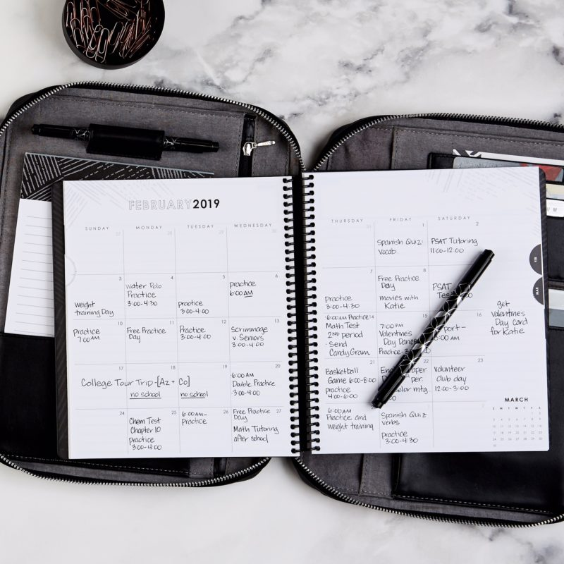 Erin Condren, Life Planner, Petite Planner, Bullet journal, planning, planners, target style, coffee house, Focused Collection, Black and White, Monochrome