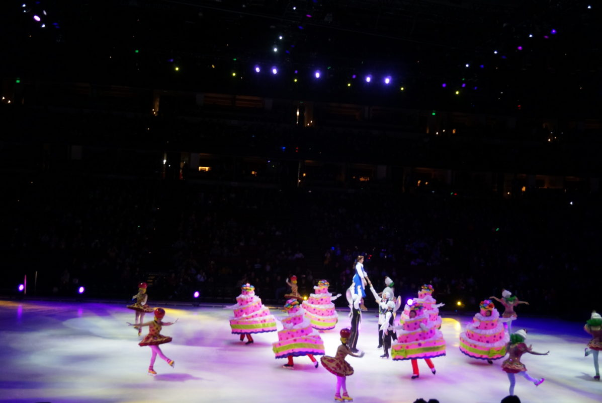 disney on ice, dare to dream, beauty and the beast, ice skating
