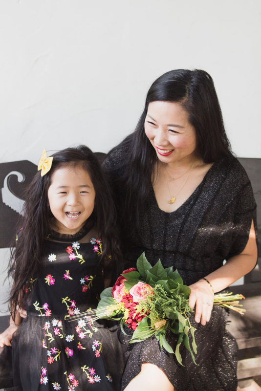 only child, mommy and me, korean mom, twinning, motherhood