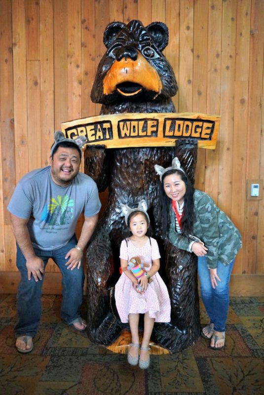 great wolf lodge, spring a palooza, family vacation, family of three, travel tips with kids, family of three