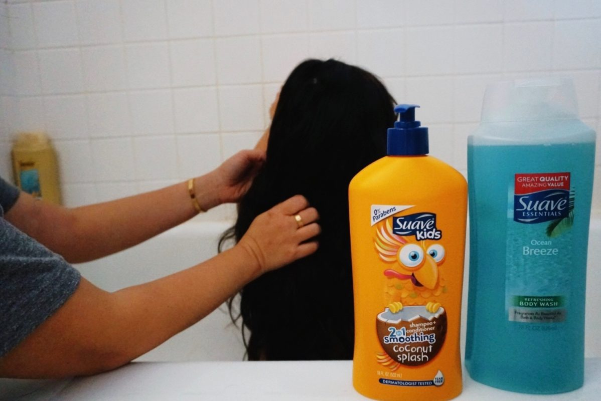 suave shampoo, suave conditioner, personal care products, walmart, rollback prices, hair care, bath products