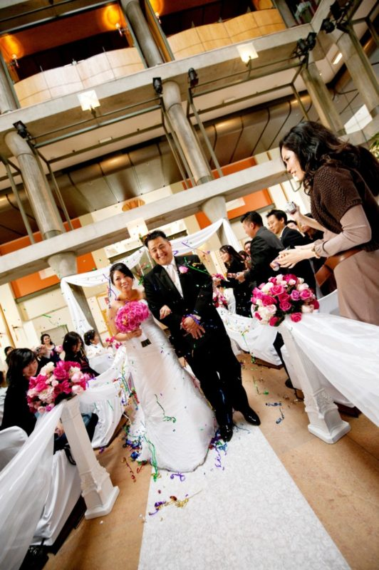 wedding, pink wedding, wedding bouquet, wedding anniversary, lessons in marriage, 10 years of marriage, cerritos performing arts center
