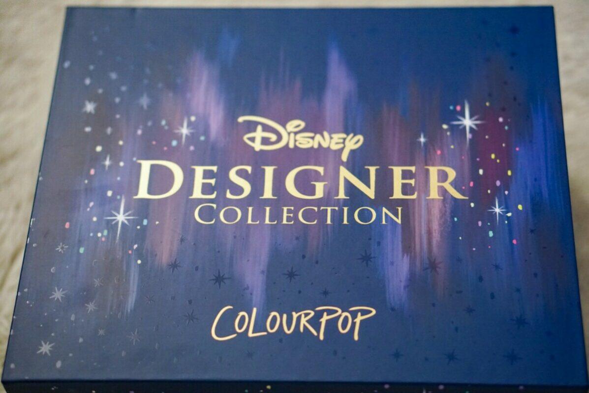 disney designer collection, colourpop cosmetics, midnight masquerade, disney colourpop, disney makeup