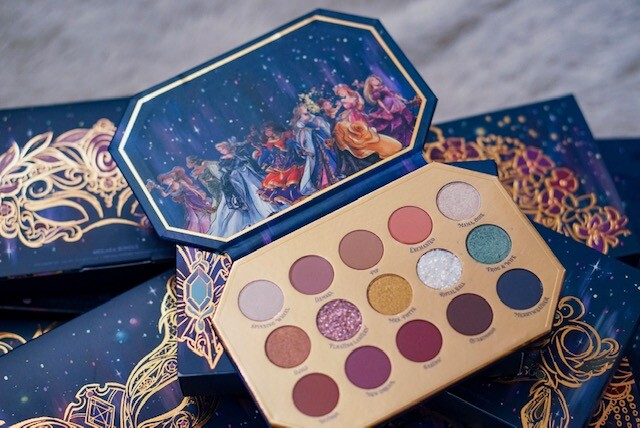 disney designer collection, colourpop cosmetics, midnight masquerade, disney colourpop, disney makeup, midnight masquerade eyeshadow palette