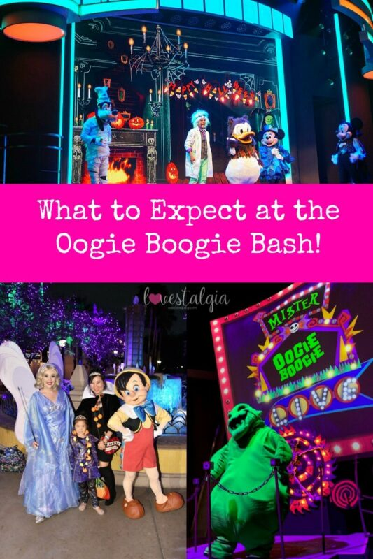 oogie boogie bash, disney california adventure, disney halloween party,