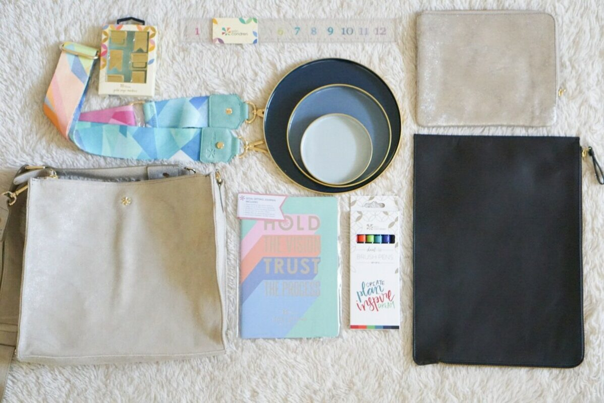 erin condren, holiday gifts, petite tote, laptop bags, brush tips pens