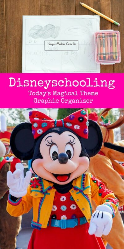 todays magical theme, disneyland, disneyschooling, how to homeschool at disney, homeschooling ideas, disney