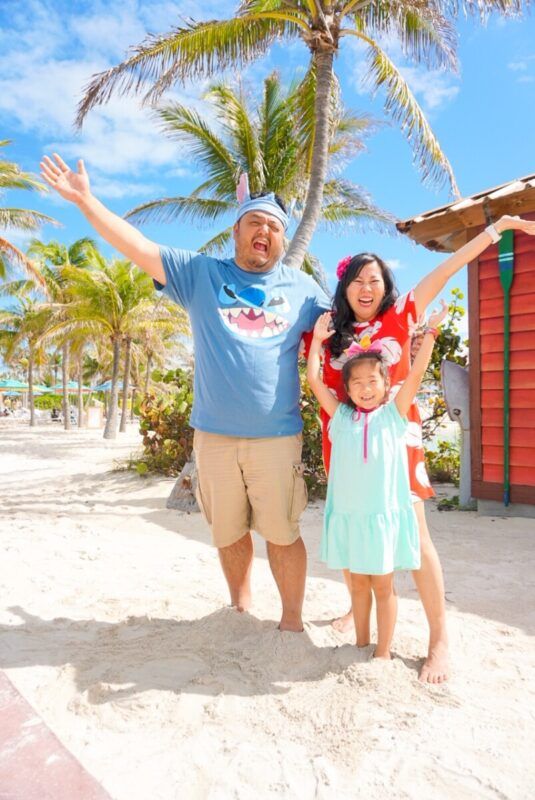 family disneybounding, disney creators conference, lilo stitch scrump disneybound, castaway cay
