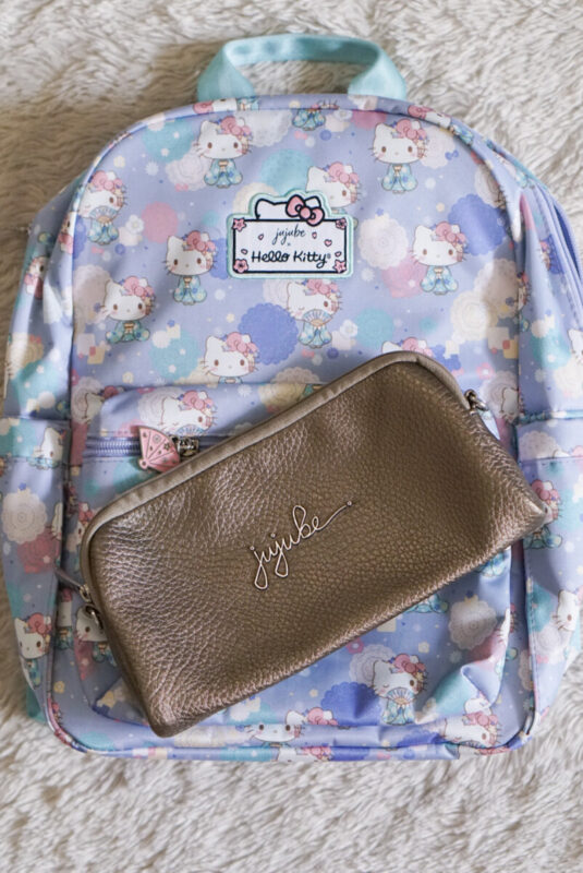 jujube, hello kitty kimono, midi backpack, hello kitty, jujube print comparisons, luminaire ever