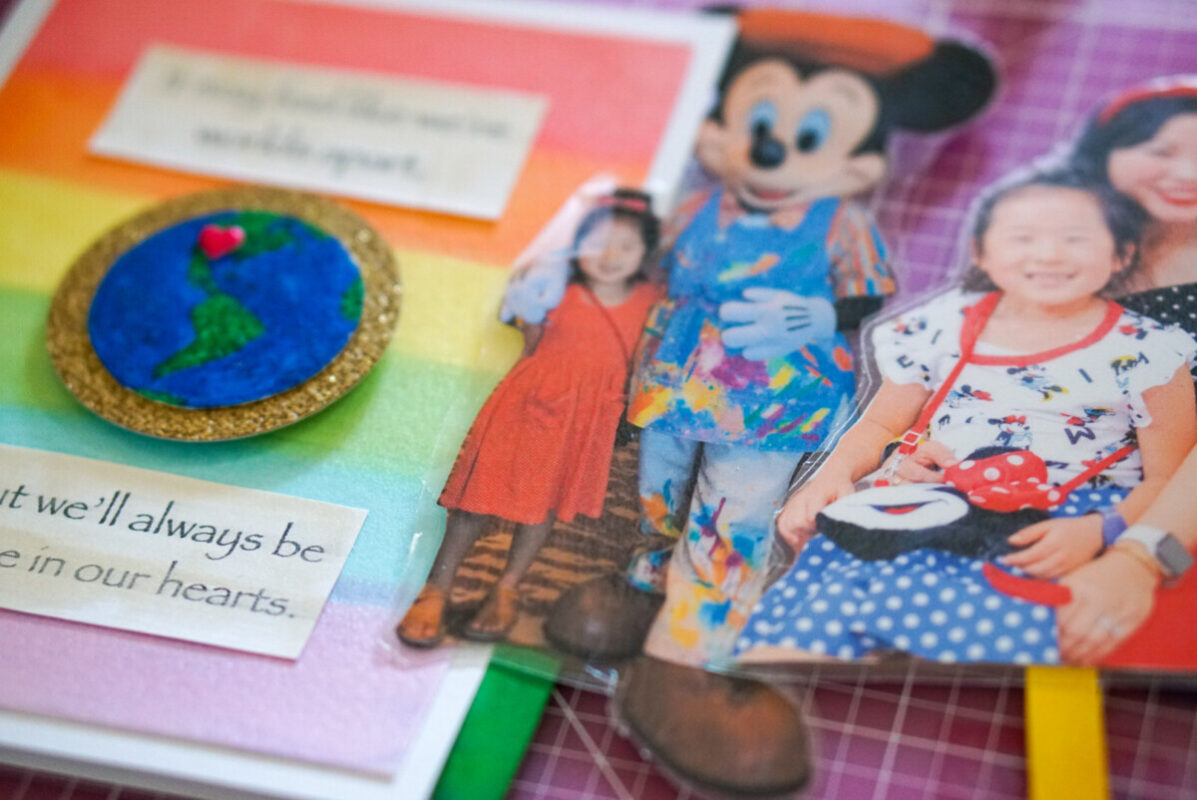 paper friends, flat stanley, popsicle friends, paper crafts, difference makers, michaels crafts, handmade card, watercolor crafts